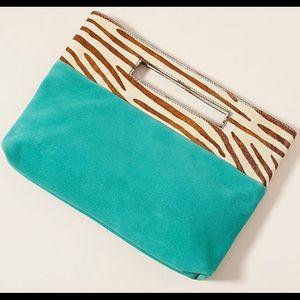 Anthropologie Textured Clutch